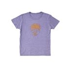 おそ松さん コルクプリントTシャツ 一松 紫 L