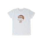 おそ松さん コルクプリントTシャツ カラ松 白 L