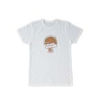 おそ松さん コルクプリントTシャツ 一松 白 L