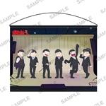 おそ松さん タペストリー 「6つ子全員、黒スーツ。」