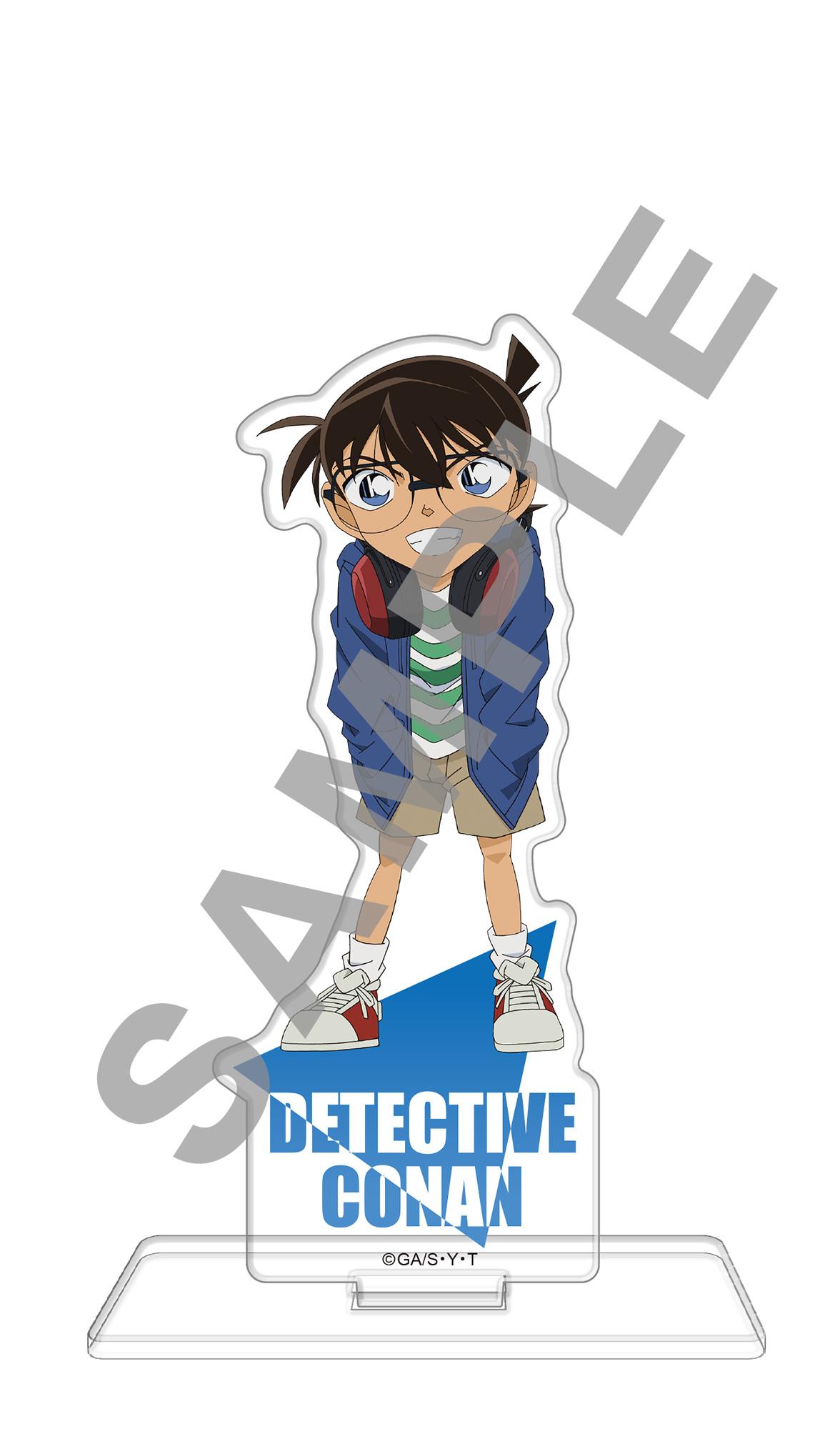 名探偵コナン アクリルスタンドフィギュア ヘッドフォンVer. 江戸川コナン【再販】