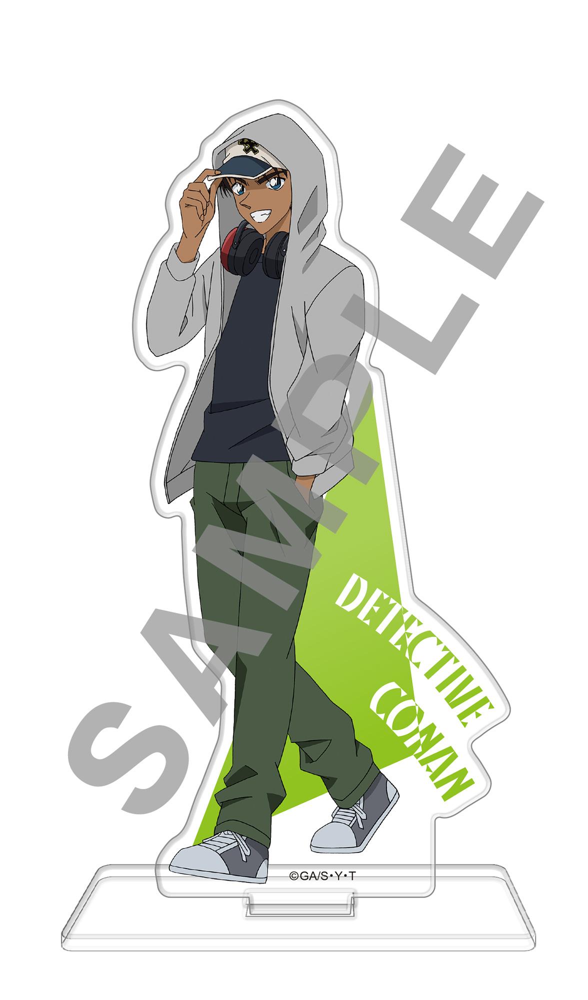 名探偵コナン アクリルスタンドフィギュア ヘッドフォンVer.服部平次【再販】