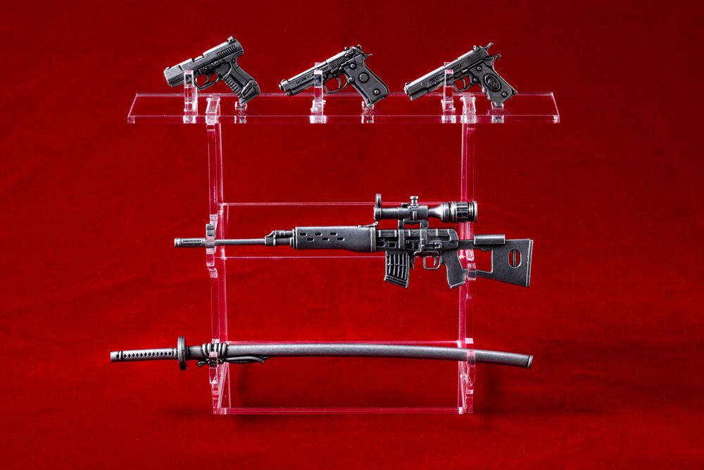 緋弾のアリア 10th Anniversary メタルウェポンコレクション