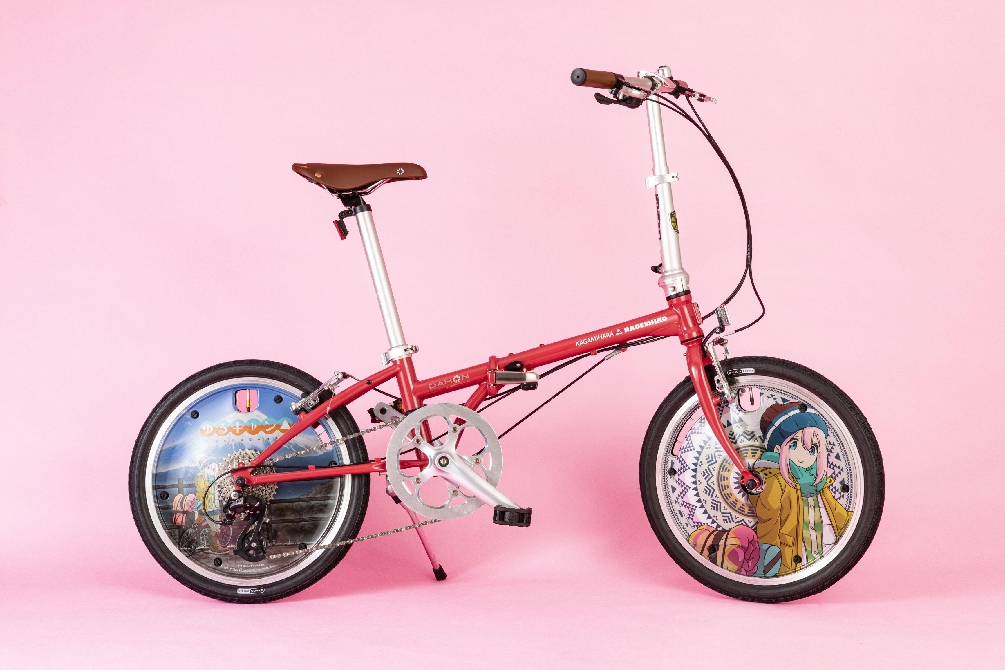 ゆるキャン△×DAHON 自転車 各務原なでしこモデル