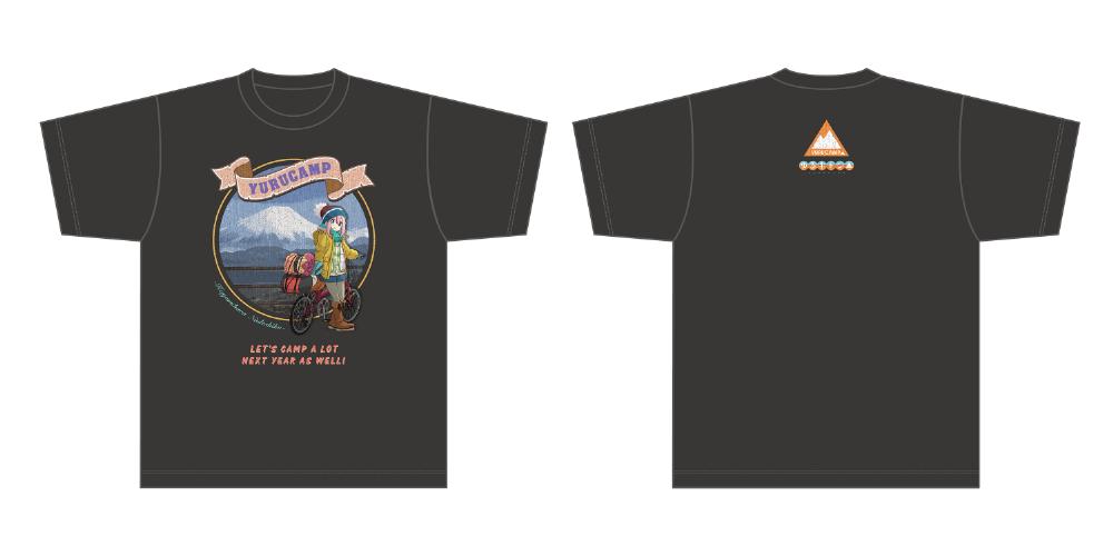 ゆるキャン△ 各務原なでしこ Tシャツ  L