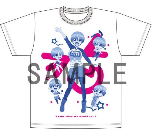 宇崎ちゃんは遊びたい!Tシャツ(アニメVer.)
