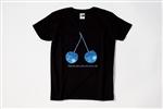 Yas Tシャツ Blue cherry M ブラック