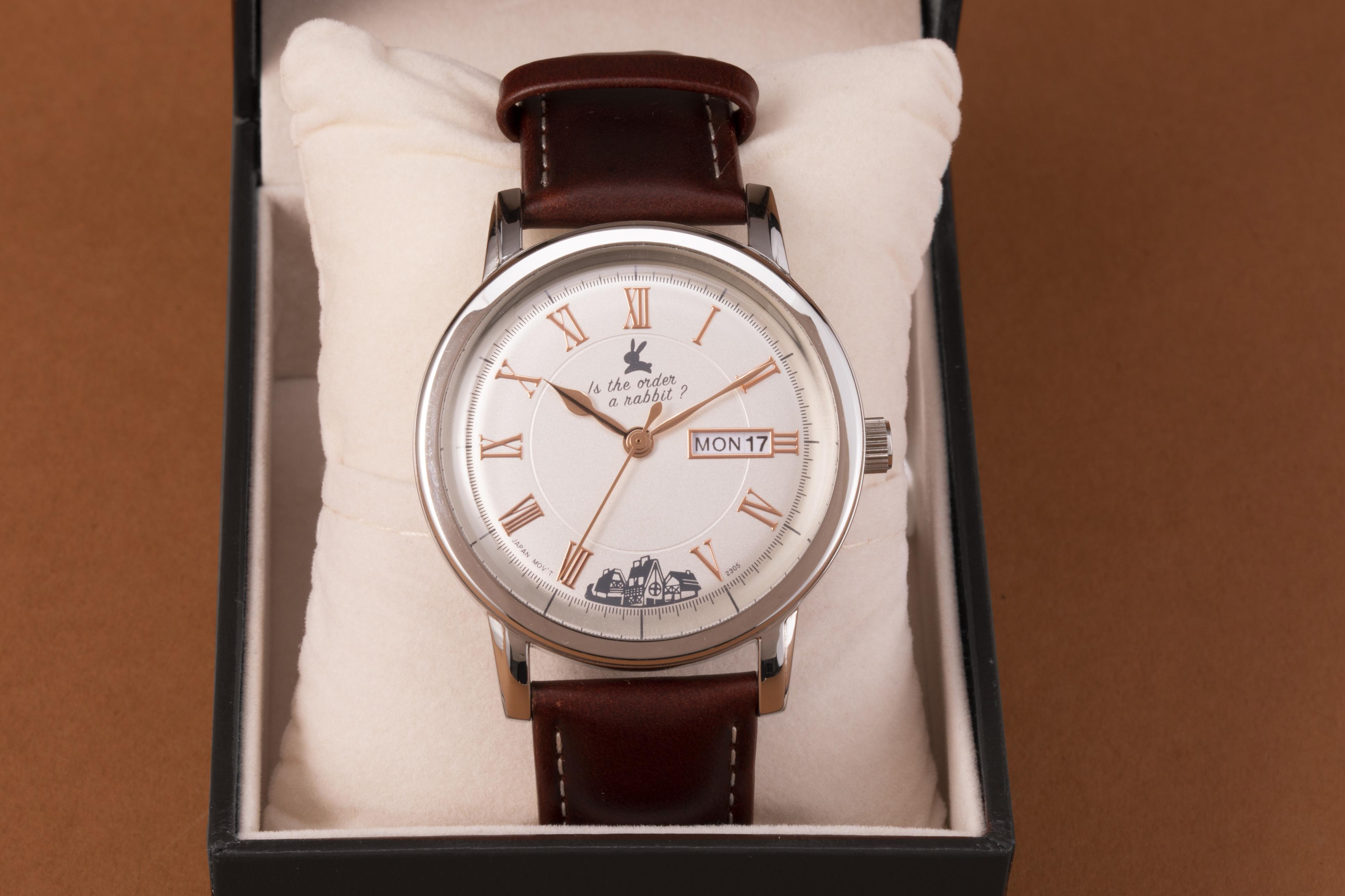 「ご注文はうさぎですか? BLOOM」腕時計 ラビットハウスモデル