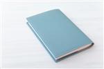 長谷川エレナ朋美 エレガントで一生使える 手帳サイズのブックカバー 文庫本サイズ_グレイッシュブルー