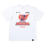 KADOKAWA DREAMS OFFICIAL TEAMWEAR S/S T-SHIRTS / WHITE/MULTI / XL