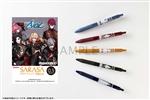 「アルゴナビスfrom BanG Dream! AAside」サラサクリップカラーボールペン 5本セット Fantome Iris ver.