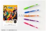 「アルゴナビスfrom BanG Dream! AAside」サラサクリップカラーボールペン 5本セット 風神RIZING! ver.
