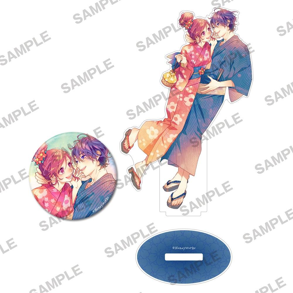 『告白予行練習 東京サマーセッション2021』アクリルフィギュア&缶バッジセット