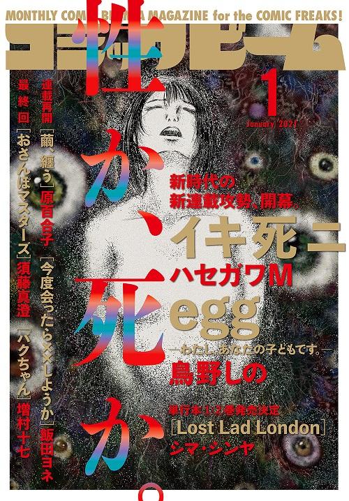 月刊コミックビーム 2021年1月号
