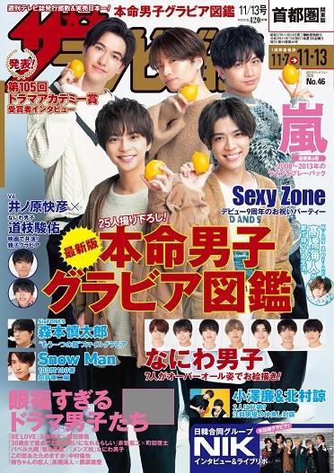 ザテレビジョン 首都圏関東版 2020年11/13号 420円