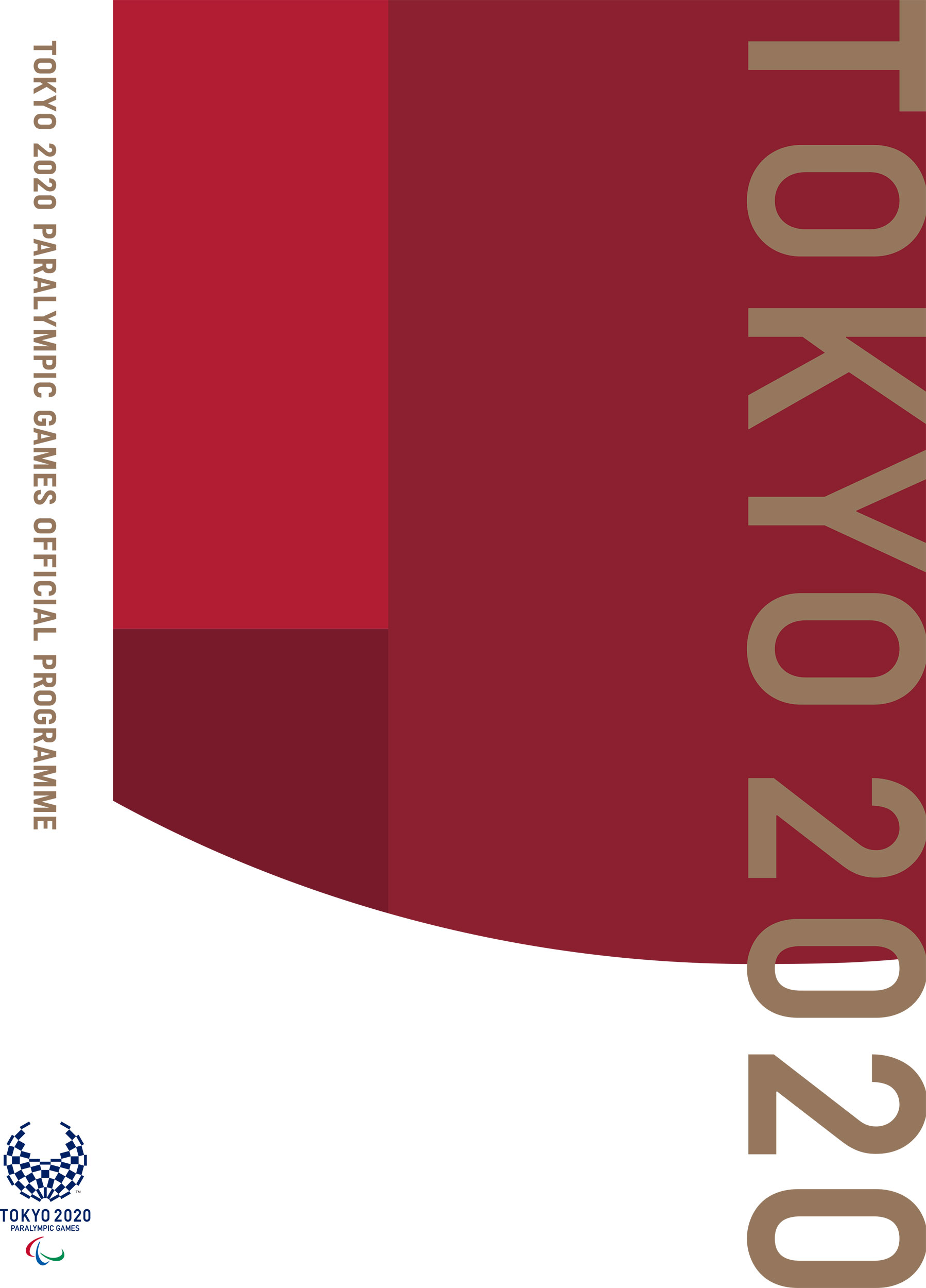 TOKYO 2020 PARALYMPIC GAMES OFFICIAL PROGRAMME