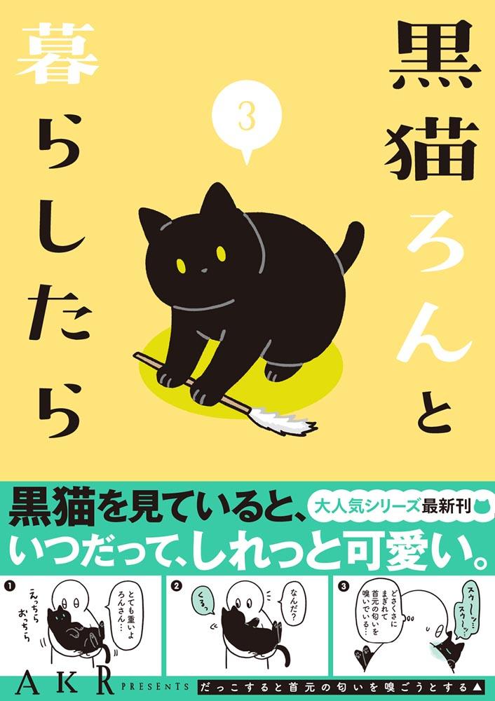 黒猫ろんと暮らしたら3