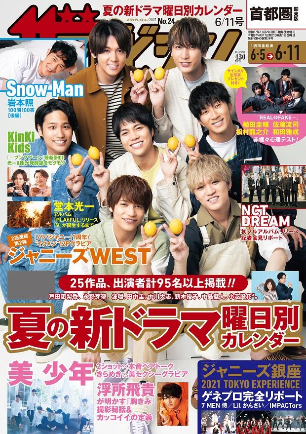 ザテレビジョン 首都圏関東版 2021年6/11号